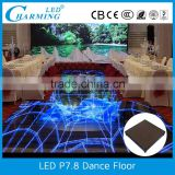 interactive dmx make led dance floor