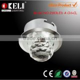 CE led flexible spot lamps & 1w indoor lights led & hot-sale crystal downlight led