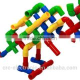 2014 Hot selling toy pipe plastic injection moulding for crosss pipe,beat pipe and T TUBE