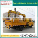 Dongfeng Brand Double Cabin 2 Ton Telescopic Boom Mounted Truck Crane
