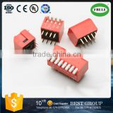 Top level 1.27mm, 2.54mm pitch DIP Switch & Tact Switch with CE certificated (FBELE)