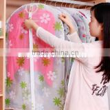 2015 new design suit cover garment bag clothing dust cover with PVC window