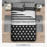 fashion manufacture 3D print bedding sets soft home textile four season collection colorful print funny animal children printing