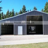 3 car prefab underground metal car garage