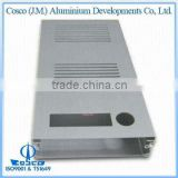 Cosco Aluminium Extrusions, Profiles, Components for Audio, Video, Digital (White Anodized)