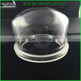 Hot Selling Quartz Glass Dome Fused Silica Bell Jar