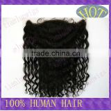 100% Remy Brazilian human hair 10 inch Natural color 13x4 inch Kinky curly Lace frontal In stock Accept customer order