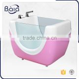 cheap acrylic portable small freestanding bathtub;plastic bathtub for kids