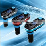 Wireless Bluetooth Auto Car FM Transmitter Radio MP3 Player Dual USB Charger Kit