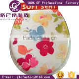 GLD Hot Sales Adult soft toilet seats WC Seat Flowery Color Soft Toilet Seat lid For Bathroom