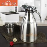 colorful double vacuum handle Insulated stainless steel coffee carafes /hot water kettle/serving kettle