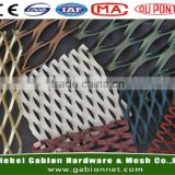 powder coated expanded aluminium metal mesh /Aluminum mesh grill for car