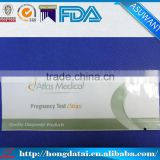 wholesale three side seal plastic bag with tear notch for pregnancy test strip                                                                                                         Supplier's Choice