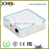 high quality wholesale alibaba 5200mah wireless 3g wifi router with slot with power bank