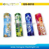 GS-8010 aluminum 9 led cheap promotional pocket gift led flash light with CE&ROHS