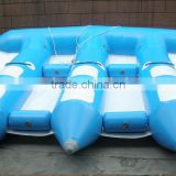 fresh inflatable banana boat for sale/Rowing boat