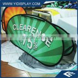 HOT SALE Horizontal Folding Pop Out A-Frame Banner