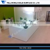 Good sale reception desk dimensions standards, reception desks for sale