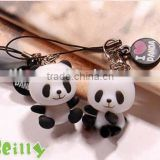 PROMOTION !!! 2013 the fashion originality animal design silicon mobile phone straps