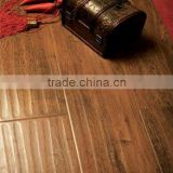 oak antique flooring(hand-scraped hardwood/solidwood)