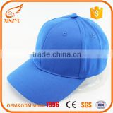 Custom promotional bulk 6-panel blue hat cotton twill baseball caps                                                                                                         Supplier's Choice