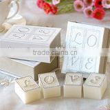 Wedding Favors Book LOVE Candles