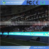 Shanghai good quality giant stadium advertising perimeter led screen display led billboard