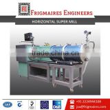 Horizontal Super Mill with Abrasion Resistant 420 Stainless Steel Grinding Chamber