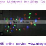 Butterfly LED String Light Twinkle light Curtain light Decorative Festival Party Event Accessory Solar Powered Rope Light