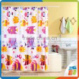 Polyester Kids Bathroom Shower Curtain