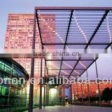ISO9001,SGS plastic glass sheet polycarbonate PC15 pc hollow sheet insulated panels for roofing prices
