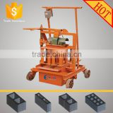 Best selling!movable QMJ2-45 industrial machinery hollow block making machine philippines