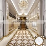 foshan pattern medallion porcellanato tile floor tile price dubai
