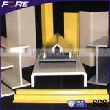 H I Type Beam / L U Channel / Round Rectangular Pipe / Tube etc Pultruded Fiberglass GRP FRP Profile