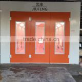JF bake paint room with Infrared heating lamp spray booth painting baking room environment enhance working efficiency