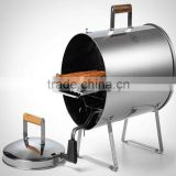 Electric induction battery operated bbq grill with hot pot