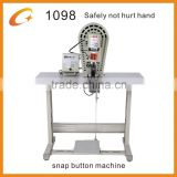 baseball cap Button Attaching Machine For Nail And Rivet 1098