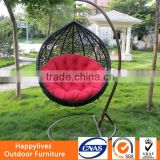 MT2848 Hotsale round rattan outdoor bed outdoor swing outdoor hanging outdoor swing lounge