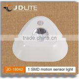 1 SMD small led motion sensor light powered by 3*AAA batteries