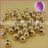 wholesale 3mm all types of 14k gold filled alloy beads for jewelry making