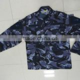 China made cotton polyester greece army Lizards camouflage Men's Army Combat Uniform (ACU)