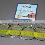 "Amola Ukulele Strings Soprano Concert Tenor 21"" 23"" 26"" Ukulele Strings (Paper Box Pack,Black White Clear Choose)"