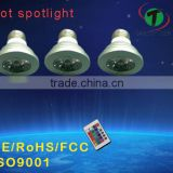 3w color changing high power led bulb light