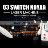 CE Certificated Q-Switch Nd: Yag Laser Tattoo Removal 1000W Machine With 1064nm & 532nm Wavelength In Alibaba 800mj