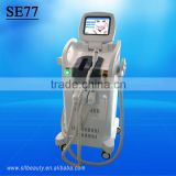 high quality ipl laser hair removal machine for sale/best selling electrolysis hair removal machine SE77