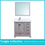 Urban Gray Bath Vanity Set Carrara White Marble Top Single And Double Sink