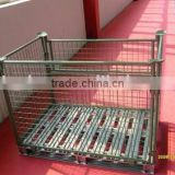 euro stacking storage pallet cage