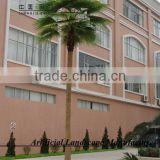 SJH46455 artificial palm tree fiberglass material with cheap price and good quality palm tree