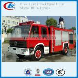 high performance dongfeng 4X4 5m3 to 6m3 water fire truck for sale