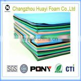 flexible fireproof white color rubber foam thermal insulation sheet (SGS approved)